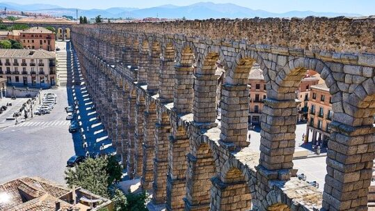 view of the aqueduct